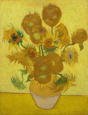 Vincent van Gogh, Zonnebloemen, 1889