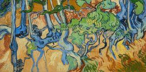 Vincent van Gogh, Boomwortels, 1890